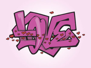 FreeVector-Love-Graffiti-Vector